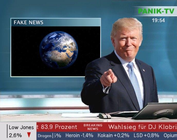 Erdkugel Fake news